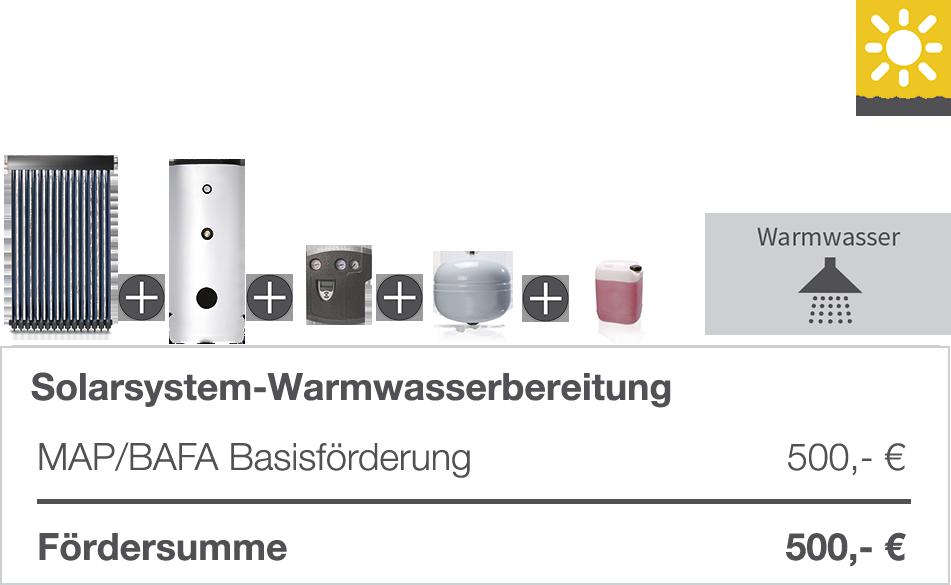 Solarsystem Warmwasseraufbereitung