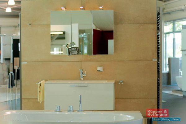 Beispiel Bad in der Ausstellung von Küpper & Hoffmann