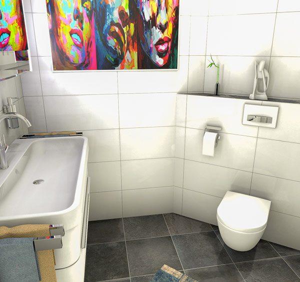 Badezimmer Entwurf